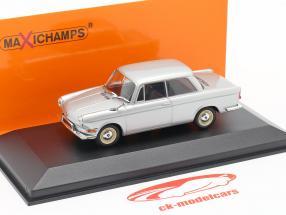 BMW 700 LS ano 1960 prata 1:43 Minichamps
