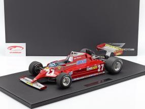Gilles Villeneuve Ferrari 126CK #27 Formel 1 1981 1:12 GP Replicas / 2. keuze