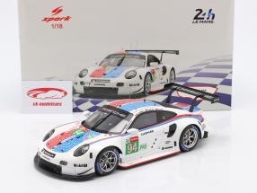 Porsche 911 RSR #94 24h LeMans 2019 Porsche GT Team 1:18 Spark