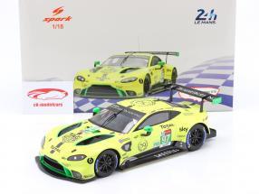 Aston Martin Vantage GTE #97 24h LeMans 2019 Lynn, Adam, Martin 1:18 Spark