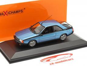Renault Fuego Byggeår 1984 blå metallisk 1:43 Minichamps