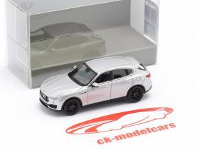 Maserati Levante year 2018 silver 1:87 Minichamps
