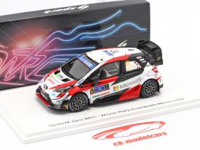 Toyota Yaris WRC #17 vinder Rallye Mexico 2020 Ogier, Ingrassia 1:43 Spark