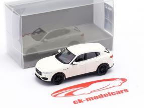 Maserati Levante Anno di costruzione 2018 bianca 1:87 Minichamps