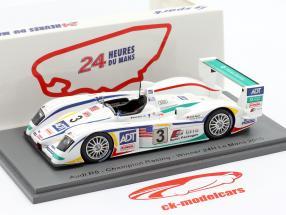 Audi R8 #3 winnaar 24h LeMans 2005 Lehto, Werner, Kristensen 1:43 Spark