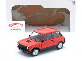 Autobianchi A112 Abarth MK5 1980 rød 1:18 Solido