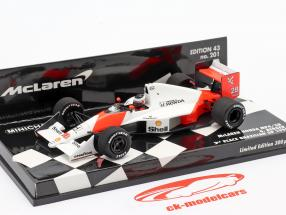 Gerhard Berger #28 McLaren MP4/5B 2ª Brasil GP F1 1990 1:43 Minichamps