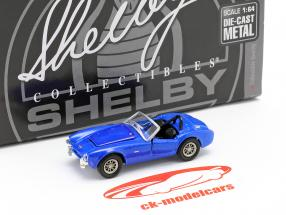 Shelby Cobra CSX2000 year 1962 blue 1:64 ShelbyCollectibles