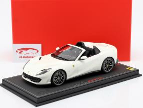 Ferrari 812 GTS Baujahr 2019 avus weiß 1:18 BBR