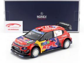 Citroen C3 WRC #1 Winner Rally Mexico 2019 Ogier, Ingrassia 1:18 Norev