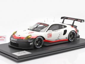 Porsche 911 (991 II) RSR #911 Byggeår 2017 hvid / sort 1:8 Amalgam