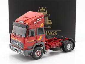 Iveco Turbo Star Camión Año de construcción 1988 naranja 1:18 Road Kings