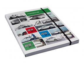 Notizbuch Porsche RS 2.7 / DINA4