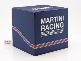 Cube de siège Porsche Martini Racing bleu