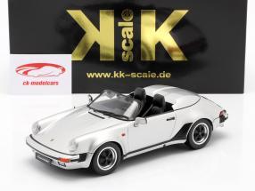 Porsche 911 Speedster Anno di costruzione 1989 argento 1:18 KK-Scale