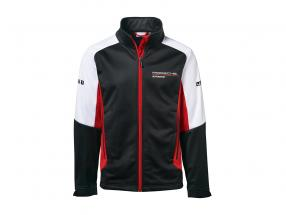 Softshell jakke Porsche Motorsport Collection sort / hvid / rød