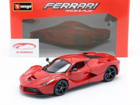 Ferrari LaFerrari rood 1:18 Bburago