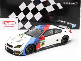 BMW M6 GT3 #42 Vincitore GT Masters Oschersleben 2017 Collard , Eng 1:18 Minichamps