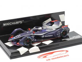 Sam Bird Envision Virgin Racing #2 formula E 2019/20 1:43 Minichamps