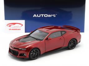 Chevrolet Camaro ZL1 Ano de construção 2017 vermelho 1:18 AUTOart