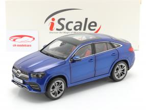 Mercedes-Benz GLE Coupe (C167) Année 2020 brillant bleu 1:18 iScale