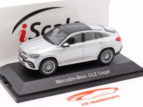 Mercedes-Benz GLE Coupe (C167) 2020 prata 1:43 iScale