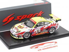 Porsche 911 (996) GT3 #93 24h LeMans 2003 Maassen, Collard, Luhr 1:43 Spark