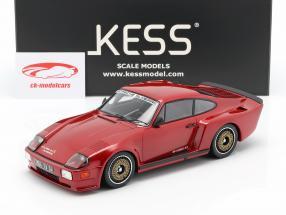 Porsche 911 (930) Biturbo 3.3 Almeras Anno di costruzione 1993 rosso 1:18 KESS