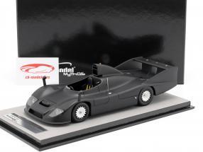 Porsche 936 Test Version 1977 matt schwarz 1:18 Tecnomodel