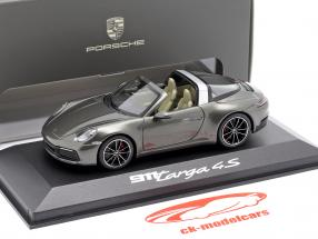Porsche 911 (992) Targa 4 S gris foncé métallique 1:43 Minichamps