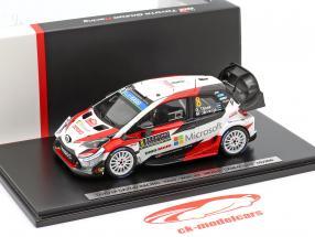 Toyota Yaris WRC #8 3e Rallye Monte Carlo 2019 Tänak, Järveoja 1:43 Spark