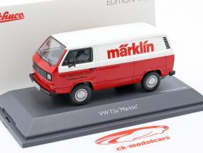 Volkswagen VW T3a Fourgon Märklin rouge / blanc 1:43 Schuco