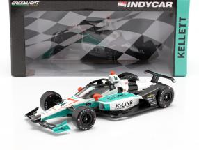 Dalton Kellett Chevrolet #14 Indycar Series 2020 A. J. Foyt Enterprises 1:18 Greenlight