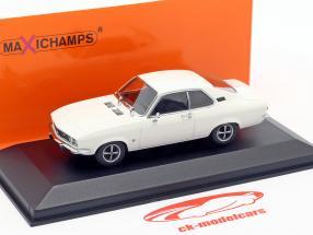 Opel Manta Baujahr 1970 weiß 1:43 Minichamps