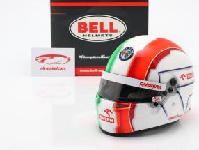Antonio Giovinazzi #99 Alfa Romeo Racing Orlen Formel 1 2020 Helm 1:2 Bell