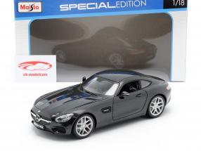 Mercedes-Benz AMG GT (C190) nero metallico 1:18 Maisto