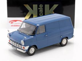 Ford Transit MK1 Van Byggeår 1965 blå 1:18 KK-Scale