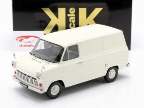 Ford Transit MK1 Lieferwagen Baujahr 1965 creme weiß 1:18 KK-Scale