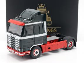 Scania 143 Streamline Camión 1995 verde oscuro / rojo / Blanco 1:18 Road Kings