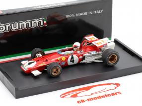 C. Regazzoni Ferrari 312 B #4 Formel 1 Italien GP 1970 1:43 Brumm