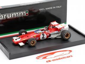 J. Ickx Ferrari 312B #2 GP Italien Formula 1 1970 1:43 Brumm