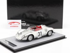 Porsche 718 RSK #31 24h LeMans 1959 Bonnier, von Trips 1:18 Tecnomodel