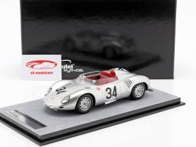 Porsche 718 RSK #34 24h LeMans 1959 Barth, Seidel 1:18 Tecnomodel
