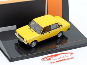 Lada 2105 year 1981 yellow 1:43 Ixo