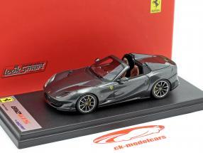 Ferrari 812 GTS Spider Ano de construção 2019 Silverstone cinzento 1:43 LookSmart