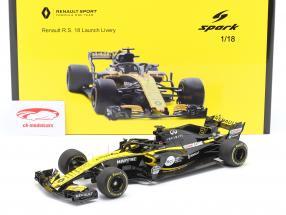 Nico Hülkenberg Renault R.S.18 #27 Launch Version Formel 1 2018 1:18 Spark