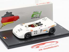 Porsche 908/03 #22 vinder 1000km Nürburgring 1970 Elford, Ahrens jr. 1:43 Spark