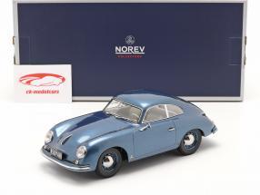 Porsche 356 Coupe Baujahr 1952 blau metallic 1:18 Norev