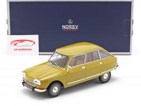 Citroen Ami 8 Club Bouwjaar 1969 goudgeel 1:18 Norev