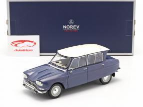 Citroen Ami 6 Baujahr 1965 ardoise blau 1:18 Norev